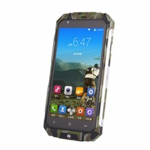 New Original V9 Plus Rugged Phone 5.0 Inch IPS Screen MTK6580 512MB RAM Android 5.0 3G GPS Shockproof Phone(China)