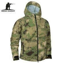 Mege męska taktyczna wodoodporna kurtka letnie światło wojskowe odzież wojskowa mężczyźni kamuflaż miękka powłoka Multicam wiatrówki bomber
