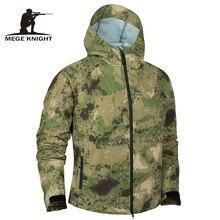 Мужская тактическая куртка Mege, черный армейский Камуфляжный светильник с мягкой оболочкой, летняя водонепроницаемая куртка бомбер