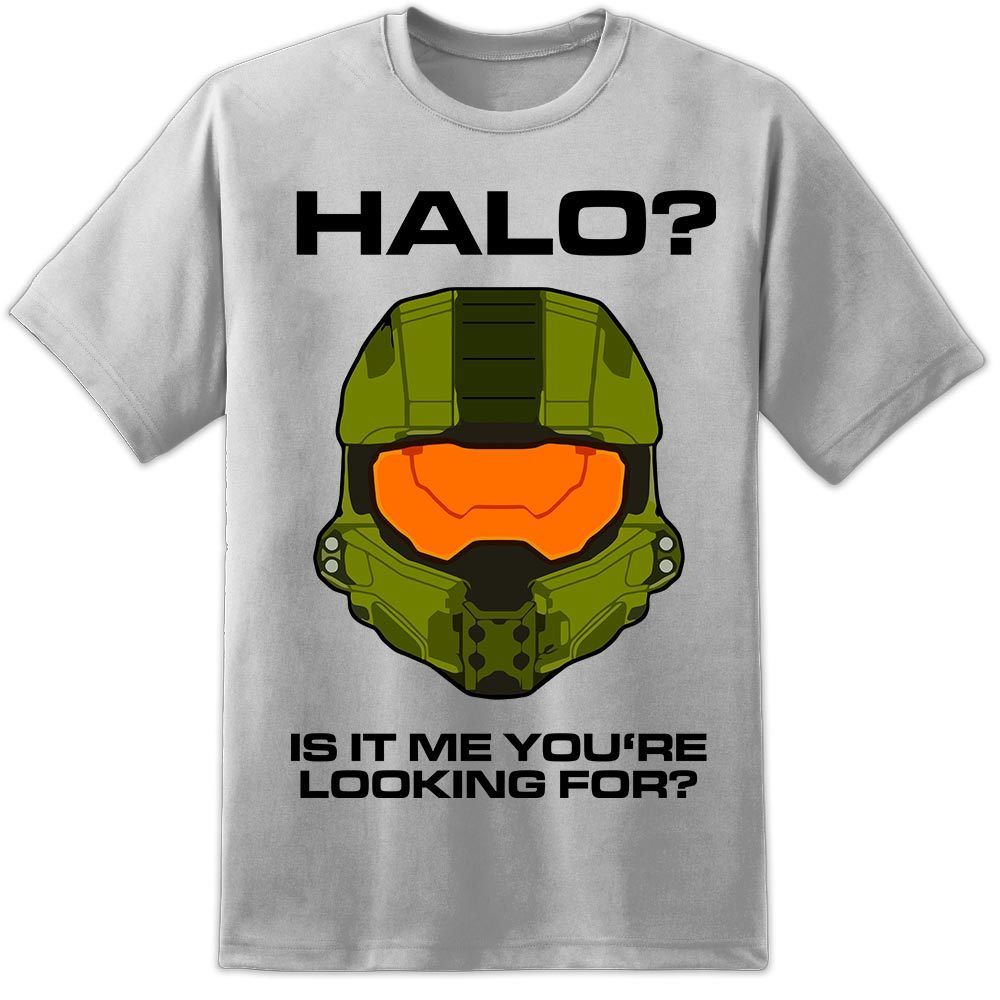 Herren Halo Master Chef Lustige Gamer Xbox PS4 T Hemd Kampf Entwickelt Nintendo SNES Kühlen Casual stolz t hemd männer unisex Neue