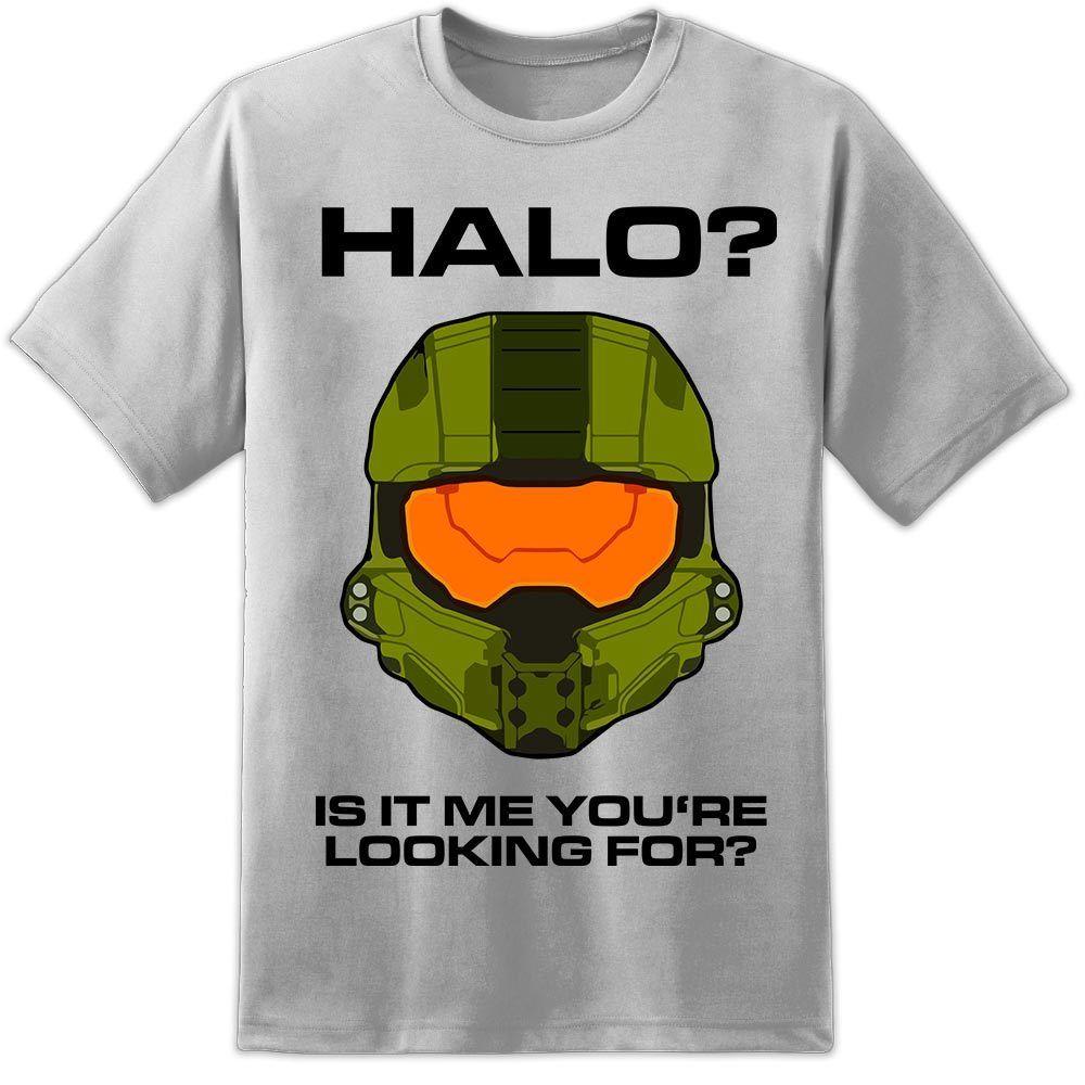 Mens Halo Master Chief Drôle Gamer Xbox PS4 T Shirt Combat Évolué Nintendo SNES Cool Casual fierté t shirt hommes unisexe Nouveau