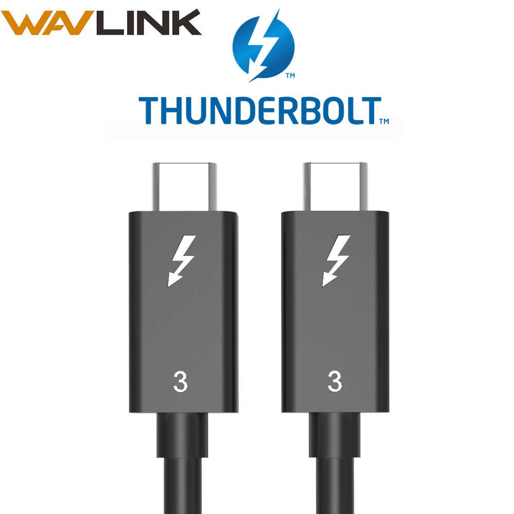 Wavlink Thunderbolt 3 adapter Dual DisplayPort 8K Adapter