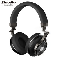 Bluedio T3 Plus Wireless Bluetooth Headphones Headband With Microphone Micro SD Card Slot Bluetooth Headphone Headset