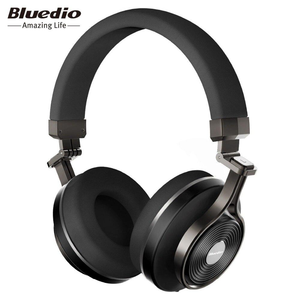 Bluedio T3 + plus casque Bluetooth sans fil/bandeau avec Microphone/fente pour carte Micro SD casque bluetooth/casque