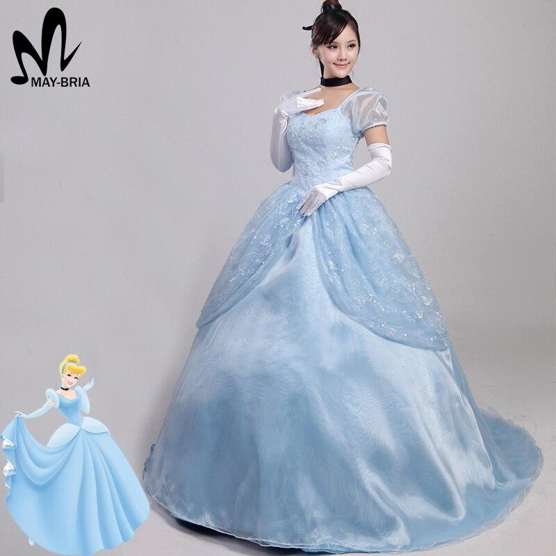 Disney Store Cinderella Light Up Costume Fancy Dress: Fancy Cinderella Dress Cinderella Cosplay Costume Adult