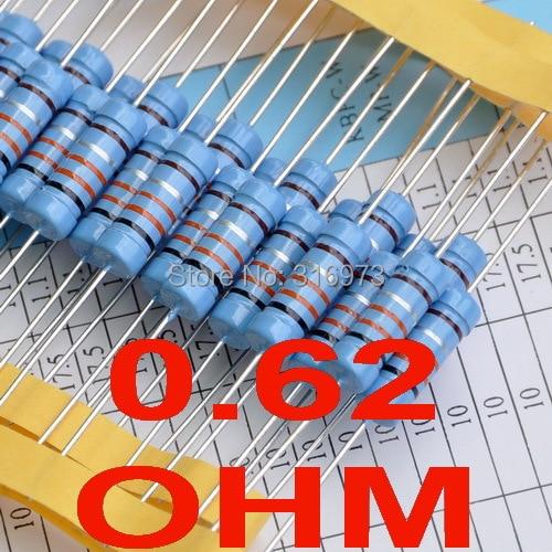 (2 шт/комплект) 0.62 Ом 1% Металл Плёнки Резисторы 3 Вт, 3 Вт