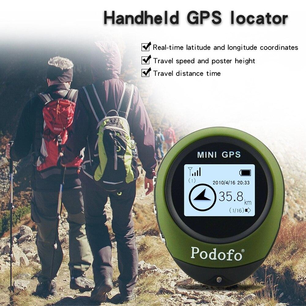 Portátil Mini Handheld Chaveiro GPS Tracker G0077 Ferramenta de Rastreamento GPS Pathfinding Localizador Bússola para Desporto Ao Ar Livre Viagem