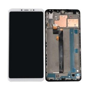 """Image 2 - Orijinal Axisinternational 6.9 """"Xiao mi Max 3 mi Max 3 LCD ekran ekran + dokunmatik panel sayısallaştırıcı için çerçeve ile mi Max3 mi MAX3"""