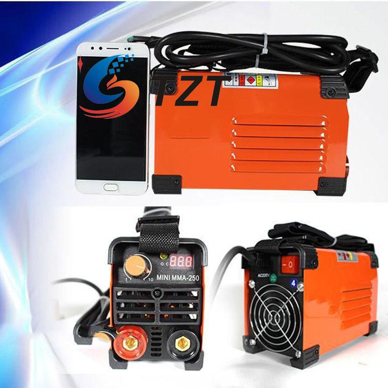 MMA-250 Inverter MMA Electric Welder 220V Handheld Mini ARC Welding Machine Tool new high quality welding mma welder igbt zx7 200 dc inverter welding machine manual electric welding machine