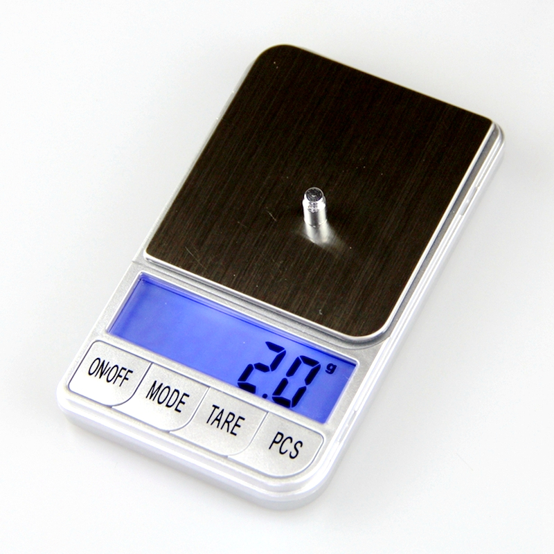 2000g 0 1g Silver Digital Pocket Scale 2kg 0 1 Electronic Jewelry Scales Food Kitchen Balance