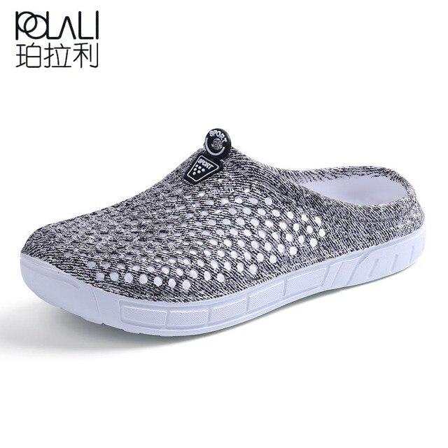 Новинка 2017 года женская летняя прозрачная обувь пляжные сандалии открытые женские тапочки вьетнамки женские легкие размеры 36–41