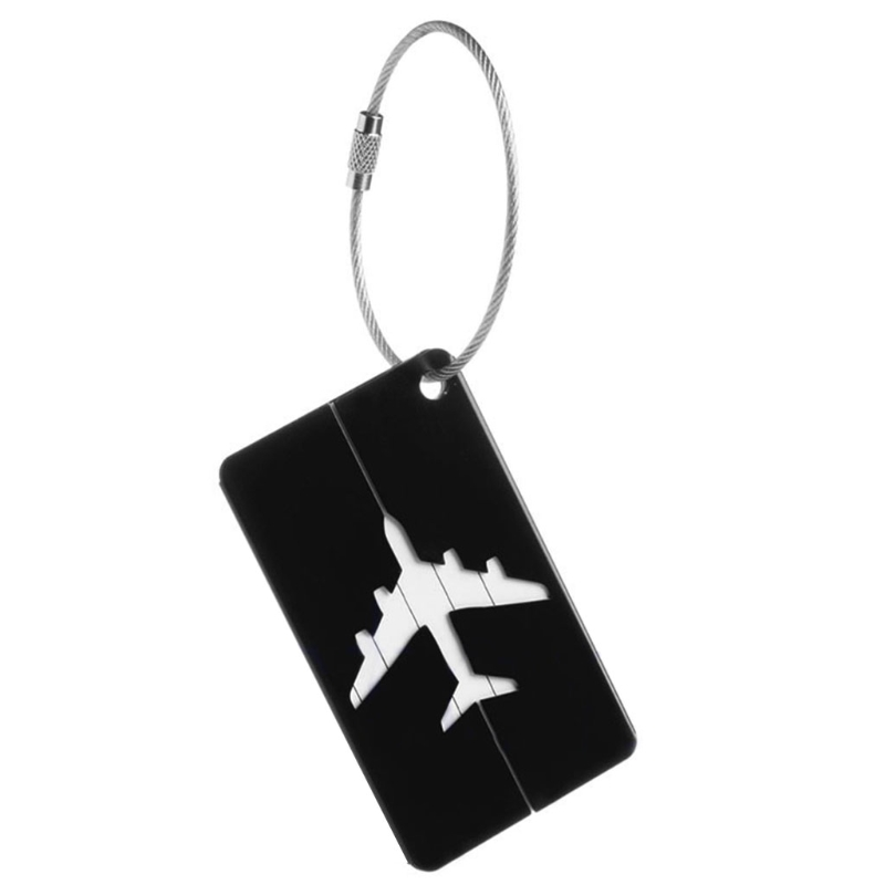 THINKTHENDO New Arrival Travel Luggage Tag Suitcase Identity Address Name Labels Aluminium Baggage