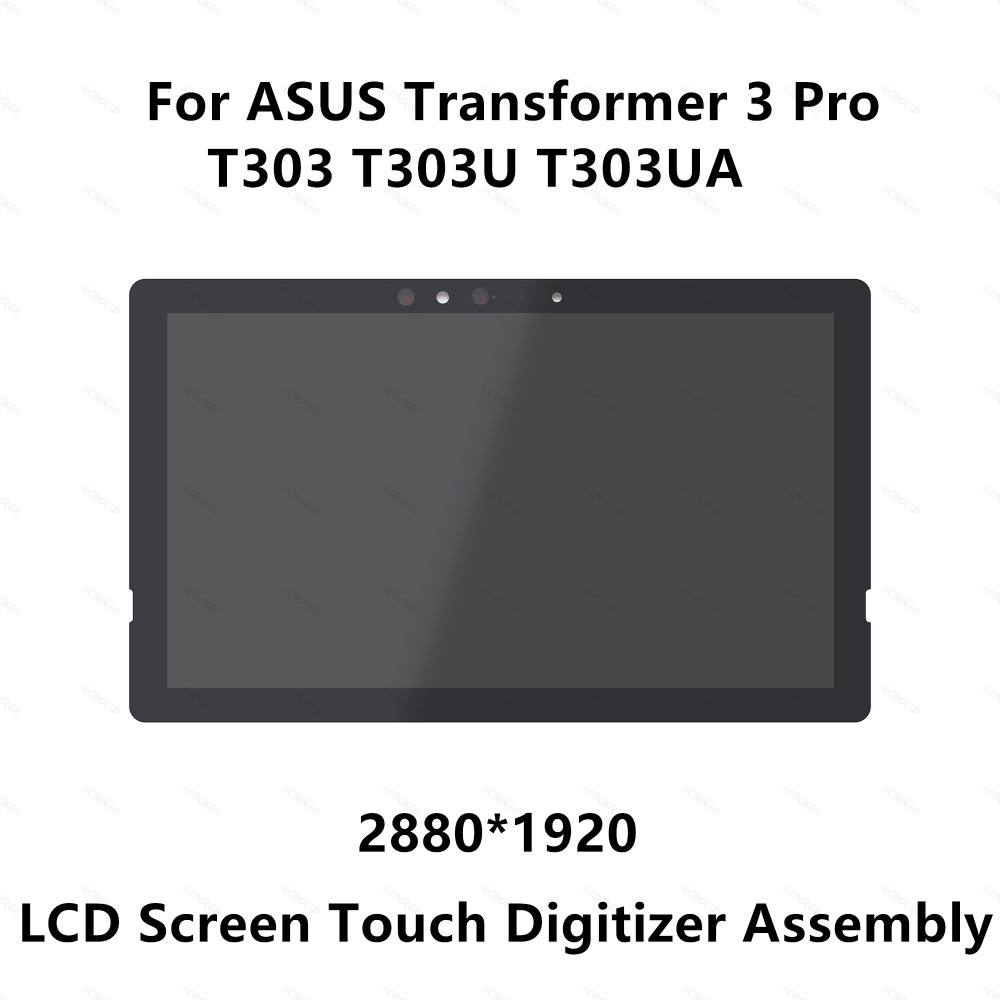 12.6'' For ASUS Transformer 3 Pro T303 T303U T303UA Full LCD Screen Display Panel Touch Digitizer Glass Assembly WQHD 2880x1920 все цены