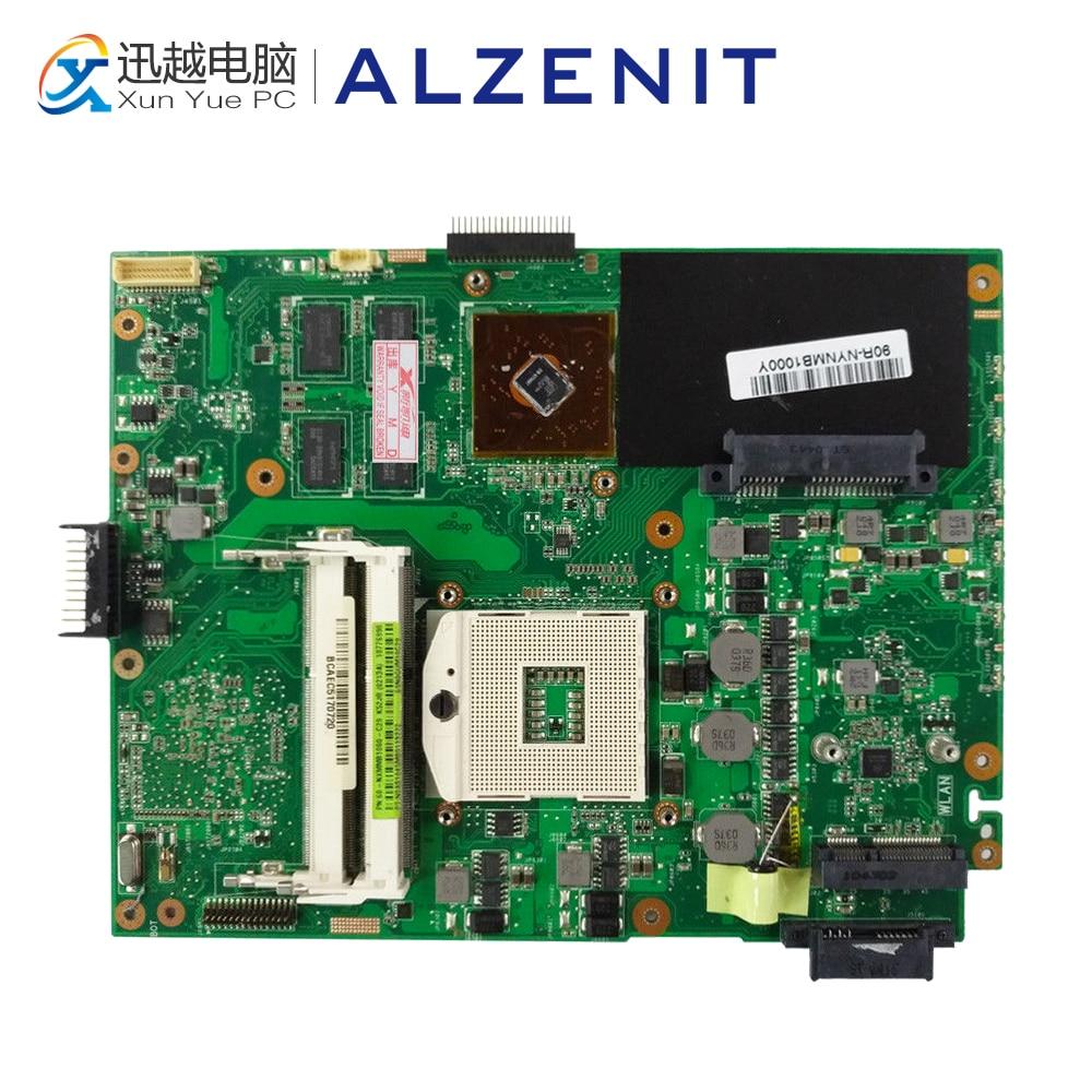 ALZENIT For Asus K52JR REV 2.0 Latop Motherboard HD5470M 512M Mainboard 100% Fully Test original laptop motherboard for asus u38n rev 2 1 integrated fully test