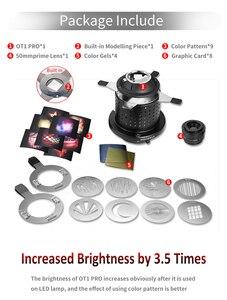Image 3 - OT1 PRO Focalize Konische Snoots Foto Optische Kondensator Kunst Spezielle Effekte Förmigen Strahl Licht Zylinder für Bowens berg