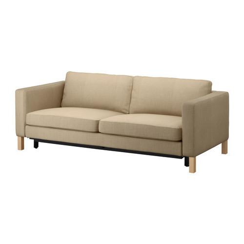 Karlstad 3 Seat Sofa Bed Cover Leather Sofas Henderson Nv Ikea Three Beige In From