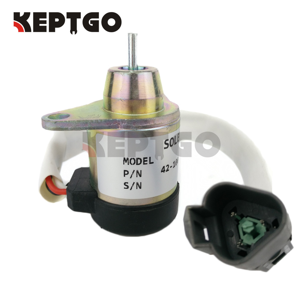 42-100, 41-9100, 12v Engine Stop Solenoid For Thermo King stop solenoid 1j710 60011 12v for engine v2607