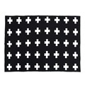 1 Pcs Baby Blanket 100% Cotton Baby Bedding  Knitted Swaddle Blanket Sofa Crib Pram Cot Bed Approx.40''x30'' #LD789