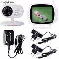 babykam elektroniczna niania bebe camara monitor 3.5 inch TFT LCD IR Night Vision 2 Way Talk 4 Lullabies Temperature Monitor