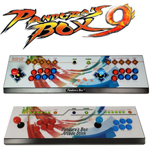 все цены на pandora box 9 Joystick Arcade Rocker 1500 in 1 Family Fighting game console HDMI/ VGA HD Output for 2 palyers онлайн