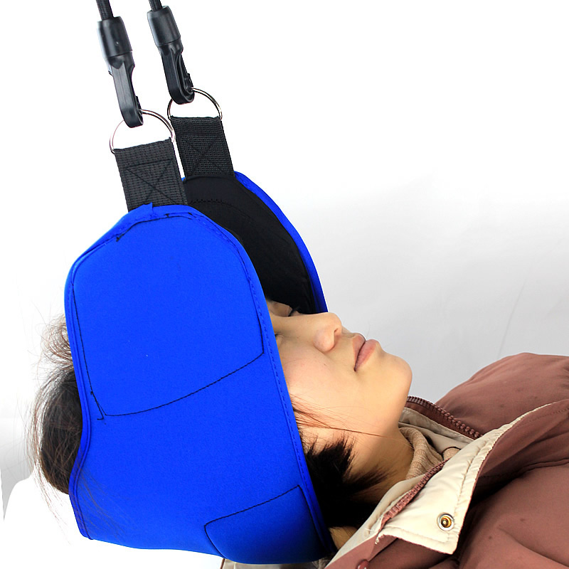 Health Care 2019 Cervical Traction Device Massage Neck Pain Reliever Hammock Neck Massager For Nap Back Stretch Portable Pillow Cushion