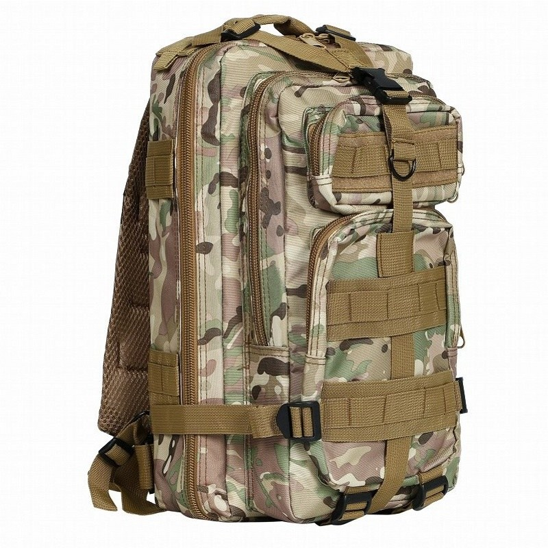 CQC 3P Military Army Tactical Backpack Rucksack Molle Waterproof Hiking Camping Hunting Outdoor Sport Bags 30L 80l outdoor backpack large capacity camping camouflage military rucksack men women hiking backpack army tactical bag