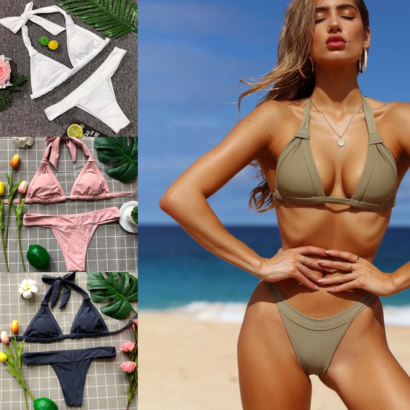Aliexpresscom  Buy Beach Girl Bikini 2018 Bondage Thong -4655
