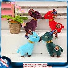 2016 New Year stuffed animal soft toy child gift birthday gifts mascot plush sheep toys free shipping