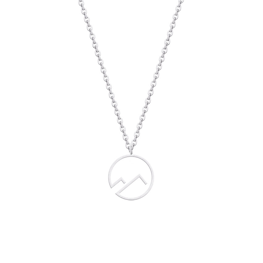 5pcs Jewelry DIY Accessories Mountain Peak Pendant Charm for Bracelet Necklace