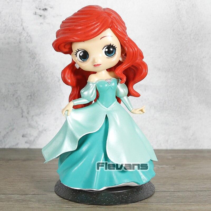 Banpresto Q Posket Disney Characters Ariel Princess Dress Version JAPAN OFFICIAL