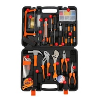 8 12 18 In 1 Wrench Toolbox Precision Watch Phone Screwdriver Set Saw Hammer Adjustable Wrench Needle nose Pliers Home Tools