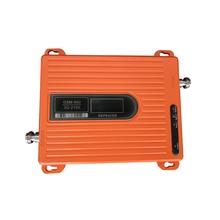 LCD wysokiej mocy 70dB dwuzakresowy GSM 900 MHz wcdma 2100 MHz 3G wzmacniacz sygnału telefonu wzmacniacz wzmacniacza