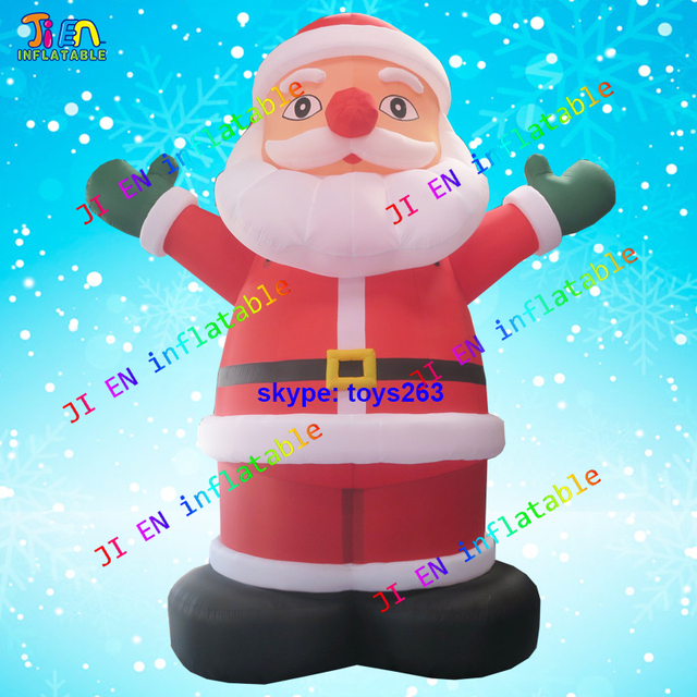 Christmas Inflatables Outdoor inflatable lawn decorations frozen inflatables lawn decorations for inflatable outdoor christmas decorations on sale 6m High Inflatable Christmas Santa Claus Xmas Inflatable Old Santa Man For Outdoor Decoration Giant Christmas