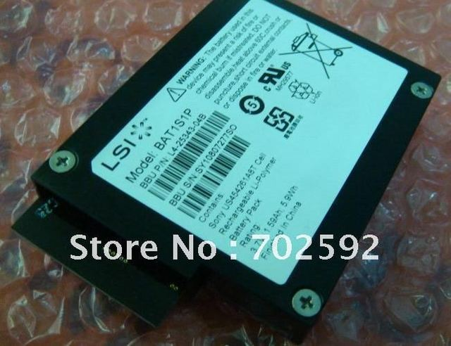 BBU08 original battery for LSI MegaRAID SAS 9261-8i 9260-4I