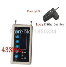 Carcode 433Mhz Remote Control Signal Detector wireless remote key decoder scanner + A023 pair cloning Car Key Remote Control