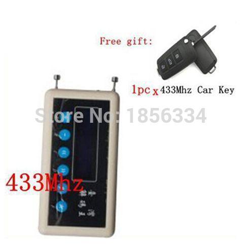 Prix pour OBD2tool 433 Mhz Télécommande Détecteur de Signal sans fil à distance clé décodeur scanner + A023 paire clonage Clé De Voiture Télécommande
