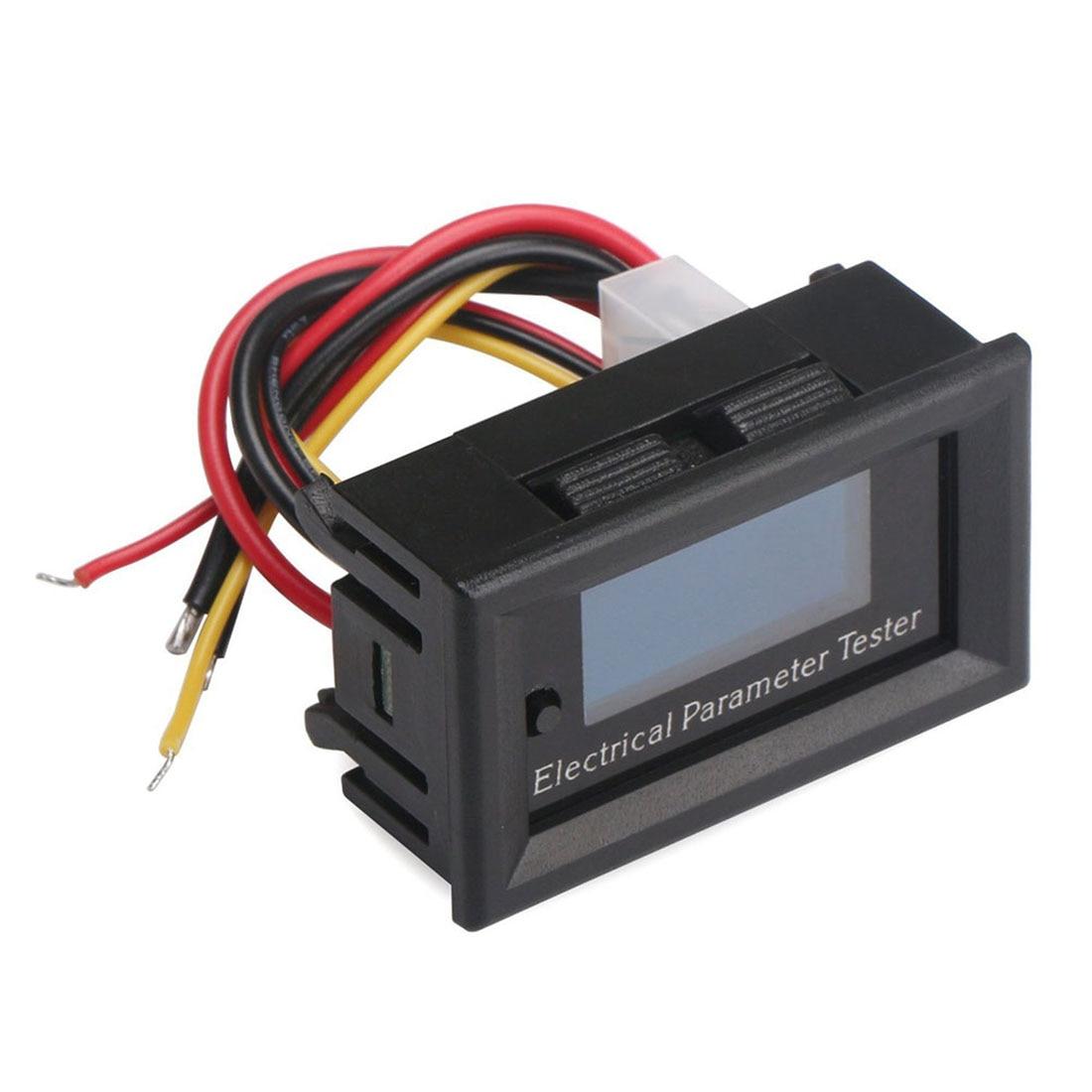 7in1 Portable OLED Multimètre Ampère Capacité Puissance L'énergie Fonctionner Temps température Mètre DC 33 V 10A Volt Amp Wattmètre 330 W 3300