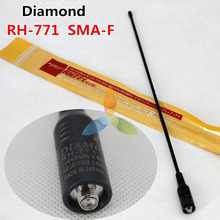 Diamond RH-771 Fastness Laser Print SMA-Female/Male/BNC Antenna Dual Band 144/430MHz For Two Way Radio Baofeng TYT Wouxun etc.