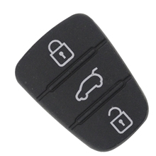 maizhi 1pcs 3 Buttons Silicone Remote Key Rubber Padbutton Replacement for Hyundai I30 Kia Styling