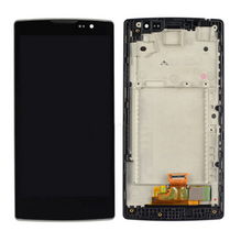 Original black  For Lg Spirit H440 H442 H420 H440N c70 H422 Lcd Display With Touch Glass Digitizer +frame Assembly replacement