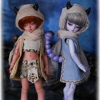 Oueneifs bjd SD muñecas soom Hilado sedoso Scorpion 1/6 resina figuras modelo de cuerpo renacido muchachas muñecos ojos alta calidad tienda de juguetes