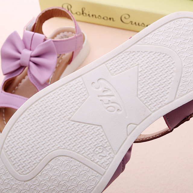 Kids Girl Shoes Sandals Summer Children Sandals Fashion Bowknot Girls Flat Pricness Shoes Zapatos Verano Sandals For Girls 5