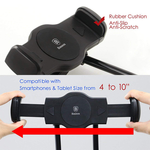 Image 4 - Baseus Flexible Mobile Phone Holder Universal Desk Phone Holder Stand Lazy Neck Bracket For iPhone Samsung iPad Tablet Holder