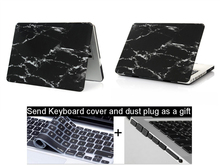 Marble Texture Case For Apple Mac& book Air Pro Retina 11 12 13 15 laptop bag case For Mac&book Air 13 case Pro 13 Retina13 15 c