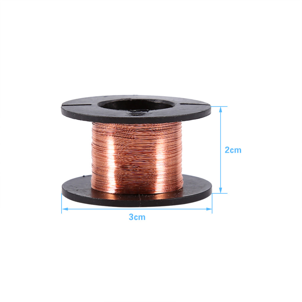 5pcs/set 0.1mm 15m Enameled Wire Soldering Wire Kit Magnet Wire Tool ...