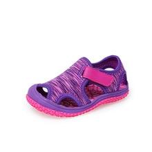 Szandálok Fiúk és Lányok számára 2018 Nyári Gyerekek Soft Mesh Beach Shoes Gyerekek Camo Sport Sandalias Infantil Sandalia Flat Shoes