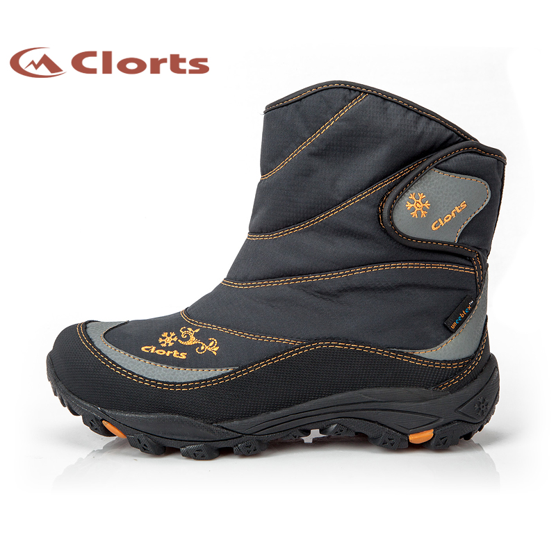 Clorts Professional Women Hiking Boots Waterproof Fur Shoes Outdoor Snow Boots High Top Warm Hiking Trekking Boots For Female waterproof hiking shoes for men warm winter hiking boots waterproof snow boots for man outdoor hiking shoes female zapatos