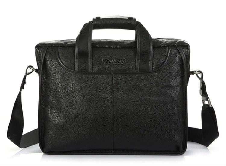 Online Buy Wholesale leather shoulder bag handle men black from ...