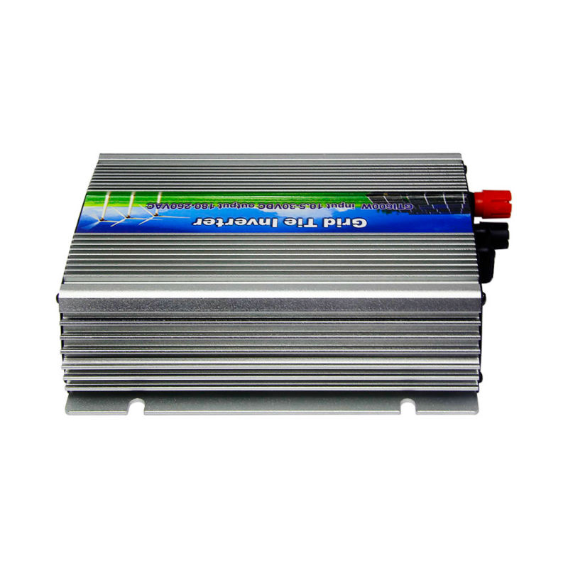 10.5-30Vdc 600W Solar Grid Tie Inverter Output 90-140Vac,Pure Sine Wave power inverter For Vmp18v panels Home Solar System free shipping 600w wind grid tie inverter with lcd data for 12v 24v ac wind turbine 90 260vac no need controller and battery