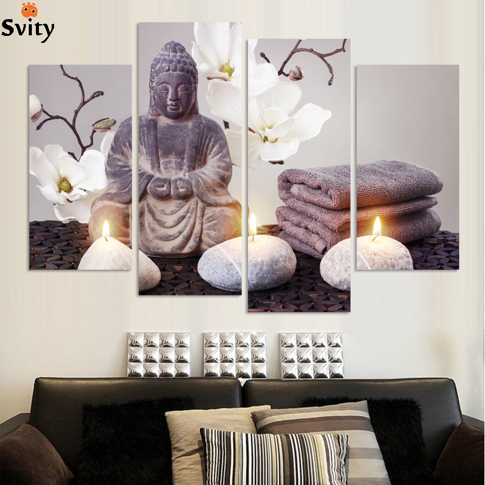 online kaufen großhandel moderne buddha malerei aus china moderne ...